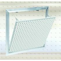 Systém F2 – Al Revízne dvierka s akustickou dierovanou platňou