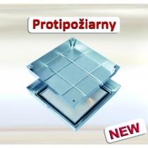 Šachtový poklop Systém PRO+Maxi Protipožiarny - Antikorová oceľ