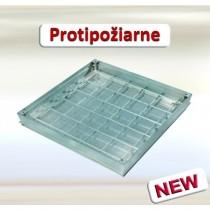 Šachtový poklop - Systém PRO+ Protipožiarny - Hliníkový plech